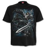 Grim Rider - T-Shirt Black Plus Size