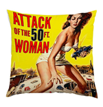 Attack Of The 50FT Woman Cushion 178615