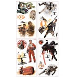 Star Wars Episode VII Wall Decor Characters