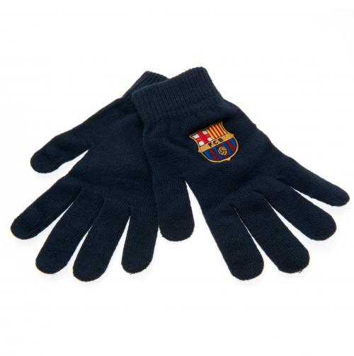 F.C Barcelona Knitted Gloves Adult