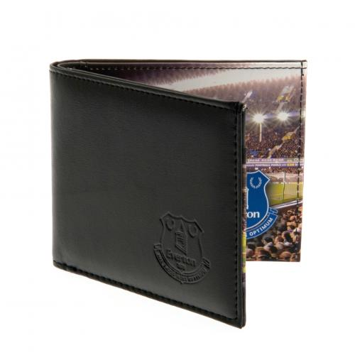 Everton F.C. Embossed Leather Wallet Panoramic 801