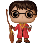 Harry Potter POP! Movies Vinyl Figure Harry Potter Quidditch 9 cm