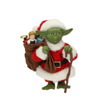 Star Wars Figure Yoda Santa Claus 12 cm