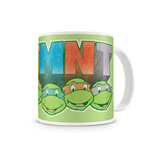 Teenage Mutant Ninja Turtles Mug Distressed Faces