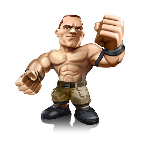 WWE Wrestling Big Show Comansi Mini Figure 8cm