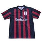 AC Milan 2015/16 Home Replica Jersey - Balotelli 45