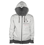 Assassin's Creed Syndicate Zipper Hoodie Chest Logo
