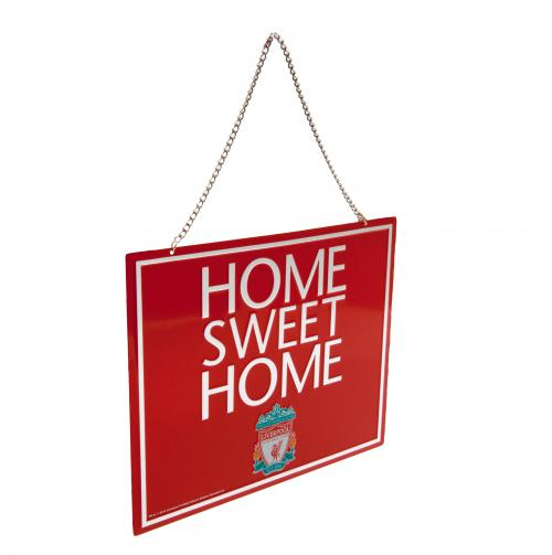 Liverpool F.C. Home Sweet Home Sign