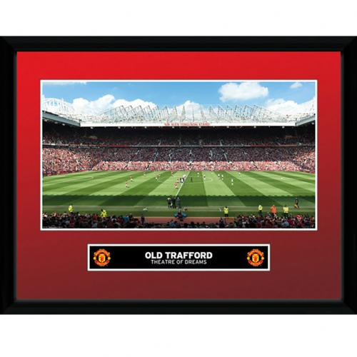 Manchester United F.C. Picture Old Trafford 16 x 12