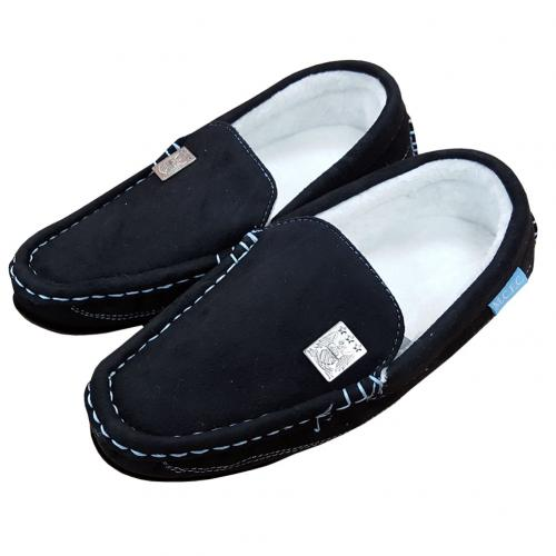 Manchester City F.C. Moccasins Mens 7/8 BLK