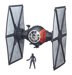 Star Wars Episode VII Black Series 6-inch Vehicle 2015 First Order Special Forces TIE Fighter 65 cm