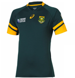 South Africa Springboks 2015 RWC Home Rugby Shirt (IRB Logo) - Kids