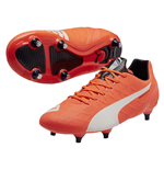 Puma evoSPEED 4.4 Soft Ground Football Boots (Lava Blast)