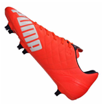 Puma evoSPEED 3.4 Leather Soft Ground Football Boots (Lava Blast)