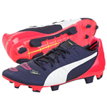 Puma Evopower 2.2 Firm Ground Football Boots (Navy-Plasma)