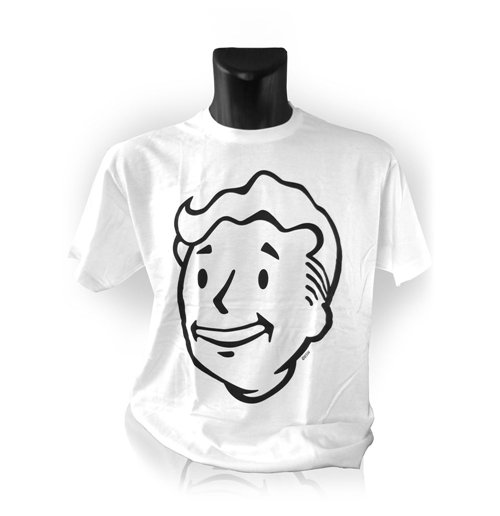 Fallout men 39 s vault boys face t shirt extra extra large for Extra tall white t shirts