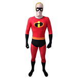DISNEY Pixar Mr Incredible Adult Unisex Cosplay Costume Morphsuit, Extra Large, Multi-Colour