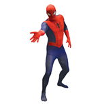 MARVEL COMICS Spider-Man Adult Unisex Basic Cosplay Costume Morphsuit, Medium, Multi-Colour