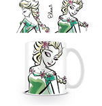 Frozen Mug Elsa Illustration