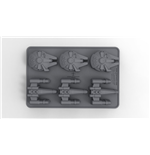 Star Wars Ice Cube Tray X-Wing & Millenium Falcon