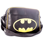 Batman Messenger Bag - Logo Black