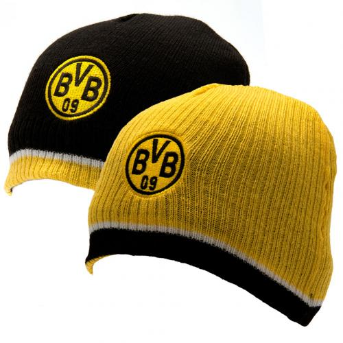 Borussia Dortmund Reversible Knitted Hat