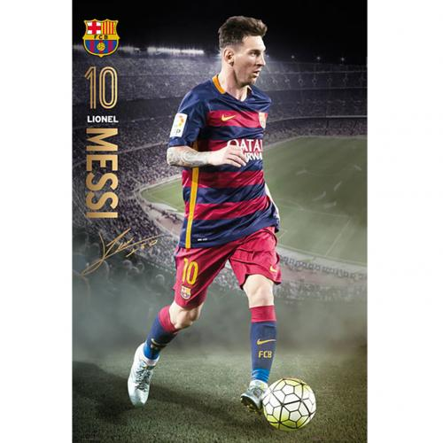 F.C. Barcelona Poster Messi 92