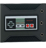 NINTENDO Original NES Controller Bi-fold Wallet, One Size, Black/Dark Grey