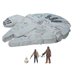 Star Wars Episode VII Vehicle with Figures 2015 Battle Action Millennium Falcon