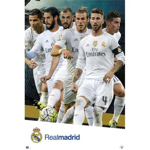 Real Madrid F.C. Poster Players 65