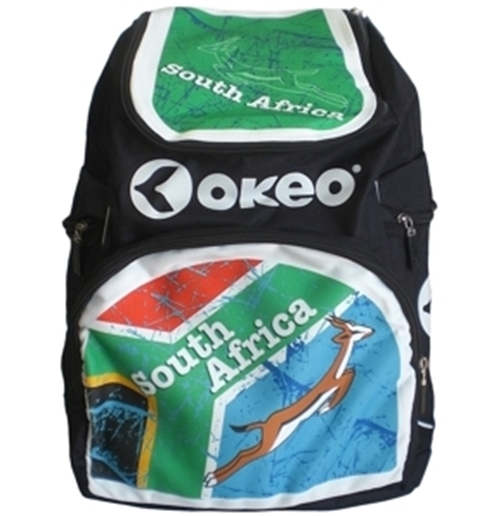 South Africa Rugby Green Backpack