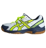 Volleyball Men's Shoes Gel Visioncourt White/Blue/Yellow