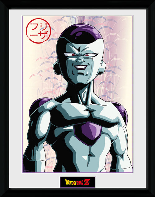 Dragon Ball Z Frieza Framed Collector Print