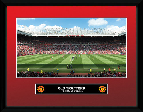 Manchester United Old Trafford 15/16 Framed Collector Print