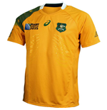 Australia Wallabies 2015 RWC Home Test Rugby Shirt (IRB)