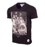 George Best Playboy Bunnies T-Shirt (Black)