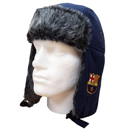 F.C. Barcelona Jersey Trapper Hat