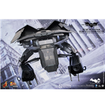 Batman The Dark Knight Rises Movie Masterpiece Compact Action Figure 1/12 The Bat Deluxe 27 cm