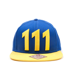 Fallout 4 Snap Back Baseball Cap Vault 111 Yellow
