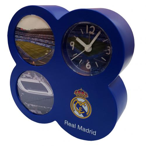 Real Madrid F.C. Picture Frame Alarm Clock