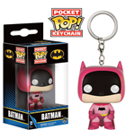 DC Comics Pocket POP! Vinyl Keychain 75th Anniversary Batman Pink 4 cm