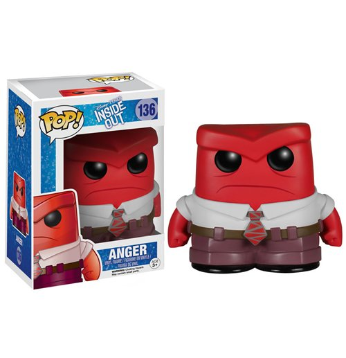 Inside Out POP! Vinyl Figure Anger 9 cm