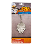 Star Wars Episode VII Metal Keychain Millenium Falcon
