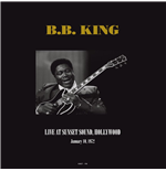 Vynil B.B. King - Live At Sunset Sound  Hollywood  Ca January 10  1972 (2 Lp)