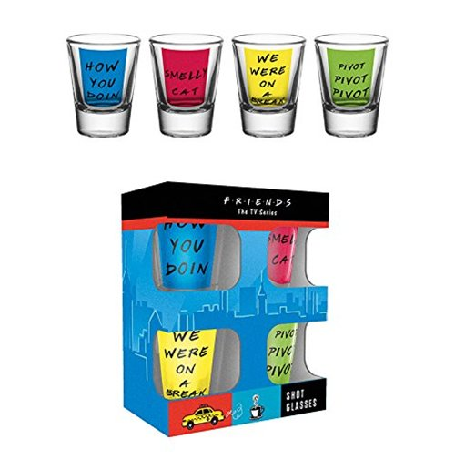 Friends Shot Glass Set - Quotes