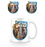 Star Wars Episode VII Mug Droids