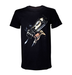 ASSASSIN'S CREED IV Black Flag Adult Male Hidden Blade T-Shirt, Medium, Black