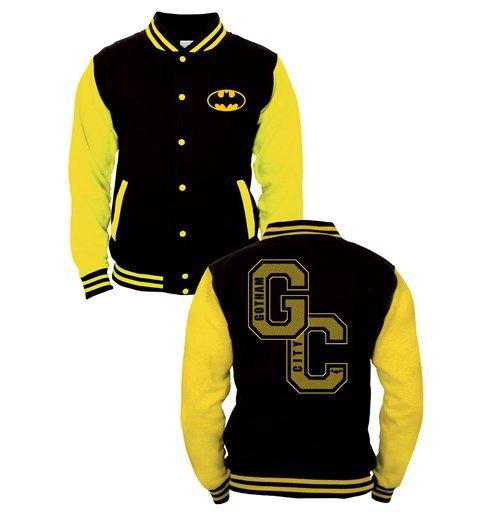 Batman Baseball Varsity Jacket Gotham City for only £ 48.23 at ...