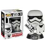 Star Wars Episode VII POP! Vinyl Bobble-Head First Order Stormtrooper with Shield 9 cm
