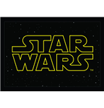 Star Wars Doormat Logo 50 x 70 cm
